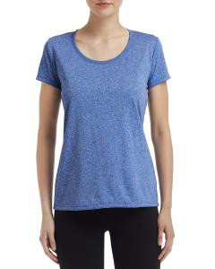 Hthr Sport Royal Ladies' Performance® 4.7 oz. Core T-Shirt