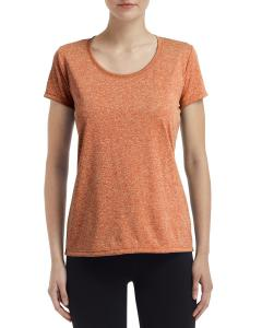 Hthr Sprt Orange Ladies' Performance® 4.7 oz. Core T-Shirt