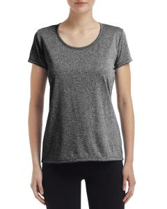 Hthr Sport Black Ladies' Performance® 4.7 oz. Core T-Shirt