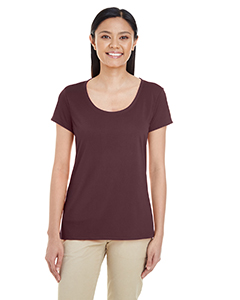 Sport Drk Maroon Ladies' Performance® 4.7 oz. Core T-Shirt