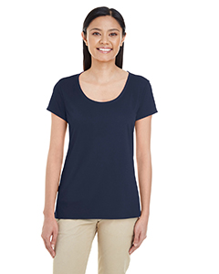 Sport Dark Navy Ladies' Performance® 4.7 oz. Core T-Shirt
