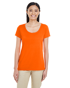 Sport Orange Ladies' Performance® 4.7 oz. Core T-Shirt