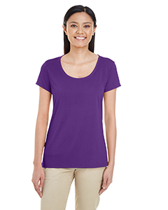 Sport Purple Ladies' Performance® 4.7 oz. Core T-Shirt