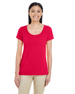 Sprt Scarlet Red Ladies' Performance® 4.7 oz. Core T-Shirt