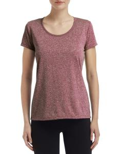 Ht Sp Drk Maroon Ladies' Performance® 4.7 oz. Core T-Shirt