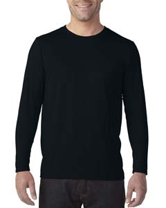 Black Adult Tech Long-Sleeve T-Shirt