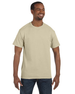 Sand Heavy Cotton 5.3 oz. T-Shirt