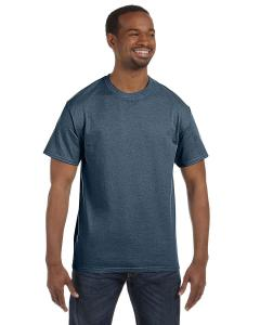 Heather Navy Heavy Cotton 5.3 oz. T-Shirt