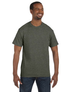 Hthr Military Green Heavy Cotton 5.3 oz. T-Shirt