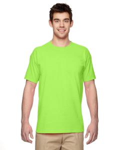 Neon Green Heavy Cotton 5.3 oz. T-Shirt