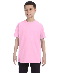 Light Pink Heavy Cotton™ Youth 5.3 oz. T-Shirt