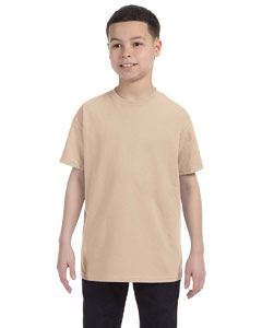 Sand Heavy Cotton™ Youth 5.3 oz. T-Shirt