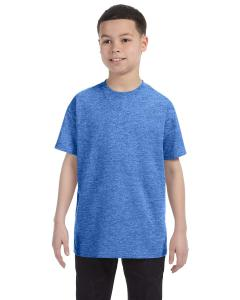 Heather Royal Heavy Cotton™ Youth 5.3 oz. T-Shirt