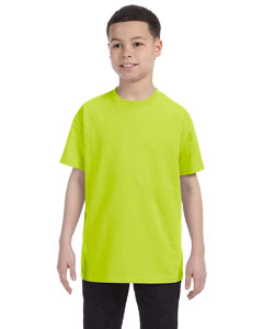 Safety Green Heavy Cotton™ Youth 5.3 oz. T-Shirt