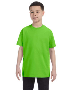 Lime Heavy Cotton™ Youth 5.3 oz. T-Shirt