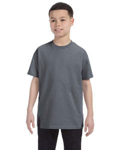 Charcoal Heavy Cotton™ Youth 5.3 oz. T-Shirt