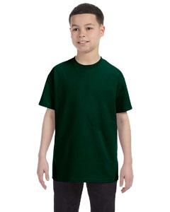 Forest Green Heavy Cotton™ Youth 5.3 oz. T-Shirt