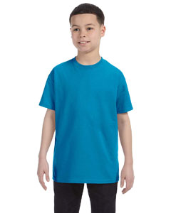 Sapphire Heavy Cotton™ Youth 5.3 oz. T-Shirt