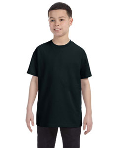 Black Heavy Cotton™ Youth 5.3 oz. T-Shirt