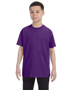 Purple Heavy Cotton™ Youth 5.3 oz. T-Shirt