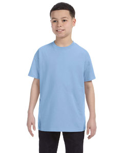Light Blue Heavy Cotton™ Youth 5.3 oz. T-Shirt