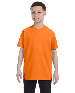 Safety Orange Heavy Cotton™ Youth 5.3 oz. T-Shirt