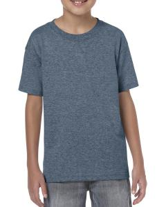Heather Navy Heavy Cotton™ Youth 5.3 oz. T-Shirt