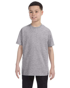 Sport Grey Heavy Cotton™ Youth 5.3 oz. T-Shirt