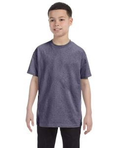 Graphite Heather Heavy Cotton™ Youth 5.3 oz. T-Shirt