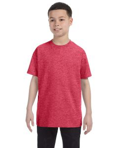 Heather Red Heavy Cotton™ Youth 5.3 oz. T-Shirt