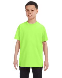 Neon Green Heavy Cotton™ Youth 5.3 oz. T-Shirt