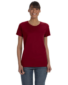 Garnet Women's 5.3 oz. Heavy Cotton Missy Fit T-Shirt