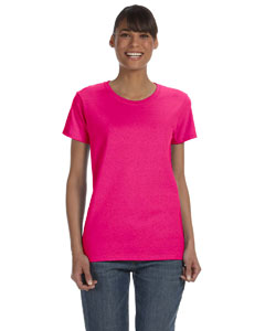 Heliconia Women's 5.3 oz. Heavy Cotton Missy Fit T-Shirt