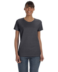 Charcoal Women's 5.3 oz. Heavy Cotton Missy Fit T-Shirt