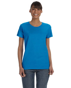 Sapphire Women's 5.3 oz. Heavy Cotton Missy Fit T-Shirt