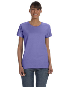 Violet Women's 5.3 oz. Heavy Cotton Missy Fit T-Shirt