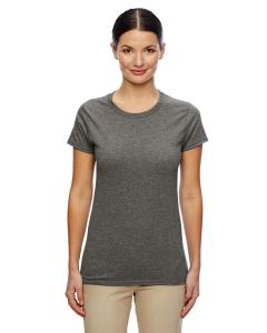 Graphite Heather Women's 5.3 oz. Heavy Cotton Missy Fit T-Shirt