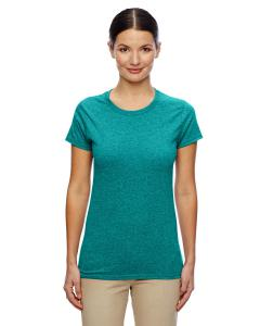 Antiq Jade Dome Women's 5.3 oz. Heavy Cotton Missy Fit T-Shirt