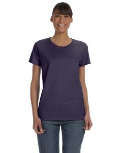 Blackberry Women's 5.3 oz. Heavy Cotton Missy Fit T-Shirt