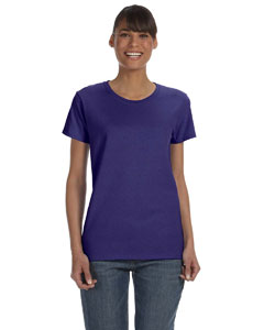 Lilac Women's 5.3 oz. Heavy Cotton Missy Fit T-Shirt
