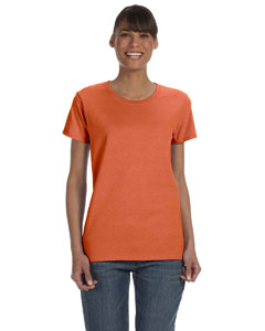 Sunset Women's 5.3 oz. Heavy Cotton Missy Fit T-Shirt