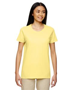 Cornsilk Women's 5.3 oz. Heavy Cotton Missy Fit T-Shirt