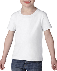 White Heavy Cotton™ Toddler 5.3 oz. T-Shirt
