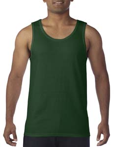 Forest Green Heavy Cotton Tank Top