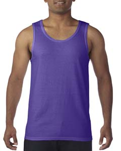 Purple Heavy Cotton Tank Top