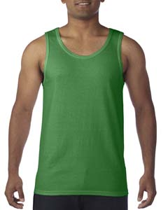 Turf Green Heavy Cotton Tank Top
