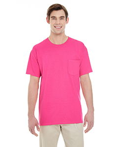 Heliconia Adult Heavy Cotton™ 5.3 oz. Pocket T-Shirt