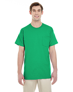 Irish Green Adult Heavy Cotton™ 5.3 oz. Pocket T-Shirt