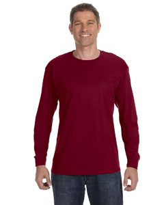 Garnet Heavy Cotton™ 5.3 oz. Long-Sleeve T-Shirt