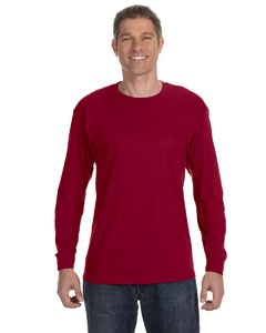 Cardinal Red Heavy Cotton™ 5.3 oz. Long-Sleeve T-Shirt